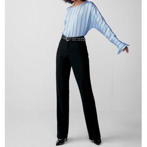 💕 EXPRESS | high rise wide leg editor dress pants